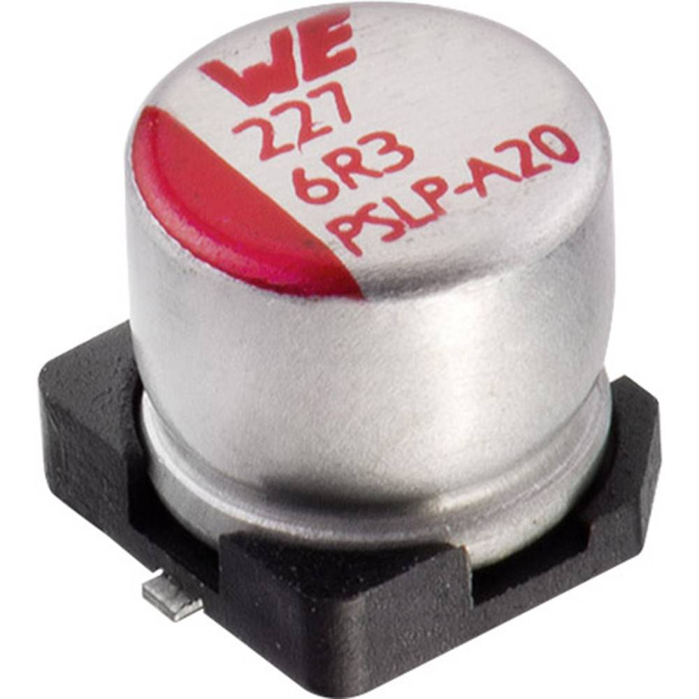 Elektrolitski kondenzator SMD 270 µF 6.3 V 20 % (promjer x V) 6.3 mm x 5.8 mm Würth Elektronik WCAP-PSLP 875105144009 1 ko