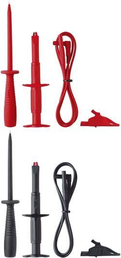 Säkerhets-mätledning-Set Benning TA 3 1 m Röd, Svart