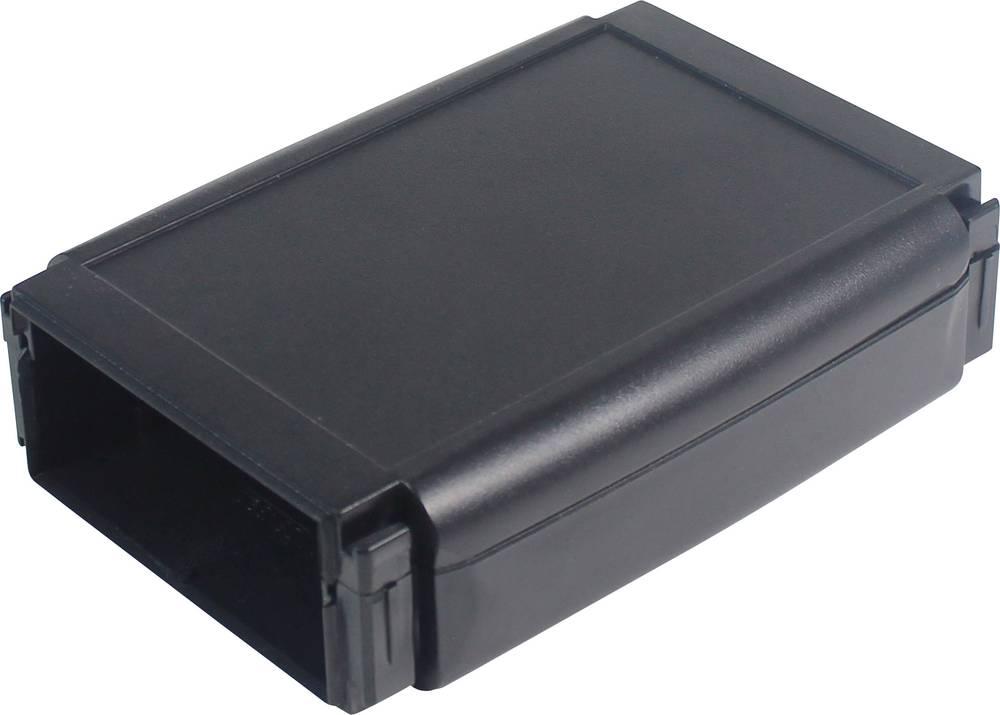 Hånd-kabinet Axxatronic CHH641NBK 100 x 80 x 20 ABS Sort 1 stk