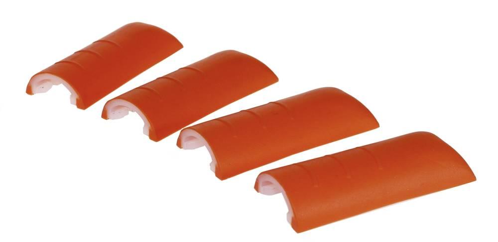 Hushjørner Axxatronic CHH66C1RD Plast Rød 4 stk
