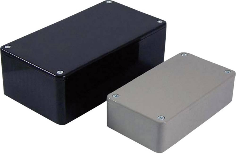 Universalkabinet 100 x 50 x 40 ABS Sort Axxatronic BIM2002/22-BLK/BLK 1 stk