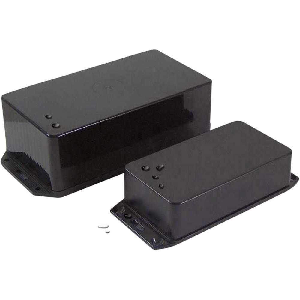 Universalkabinet 120 x 52 x 26 ABS Sort Axxatronic BIM2002/IP-BLK 1 stk