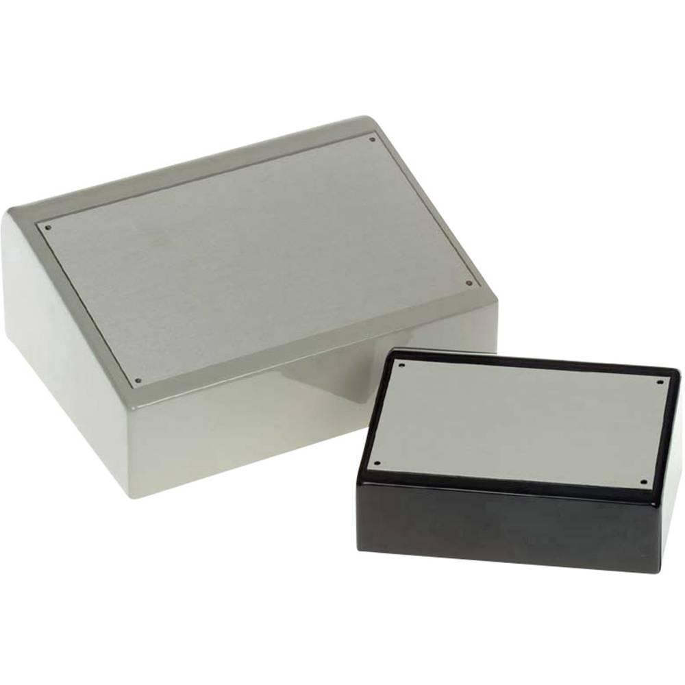 Pult-kabinet Axxatronic BIM8005-GY/PG 127 x 170 x 70 ABS Lysegrå 1 stk
