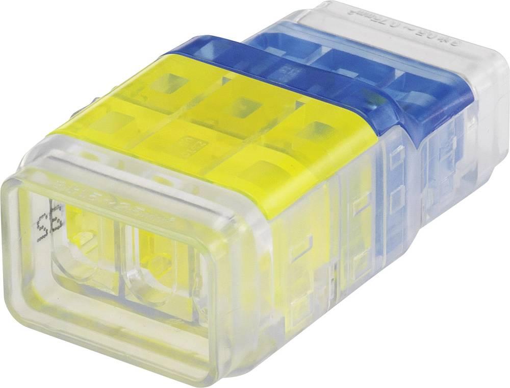 Enkeltladerstik ATT.CALC.CROSS_SECTION_FLEXIBLE: 0.5-2.5 mm² ATT.CALC.CROSS_SECTION_RIGID: 0.5-2.5 mm² Poltal: 6 1282789 1 stk G