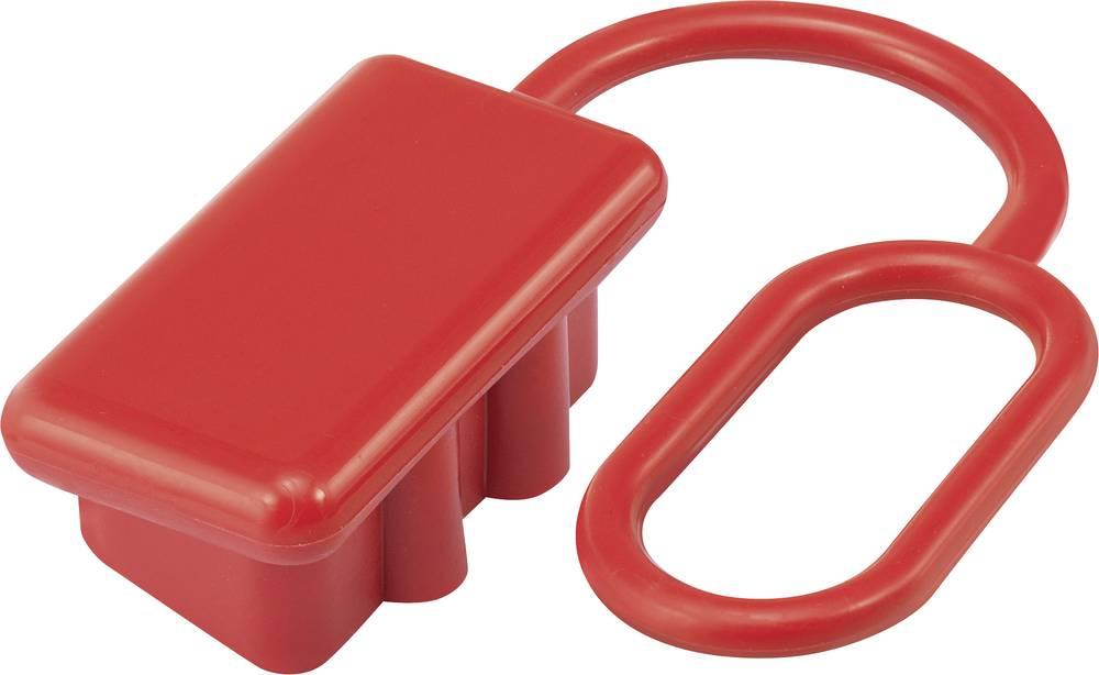 Pokrov za zaščito pred prahom za 120 A Visoko tokovni konektor za baterijski priklop rdeča vsebina: 1 kos