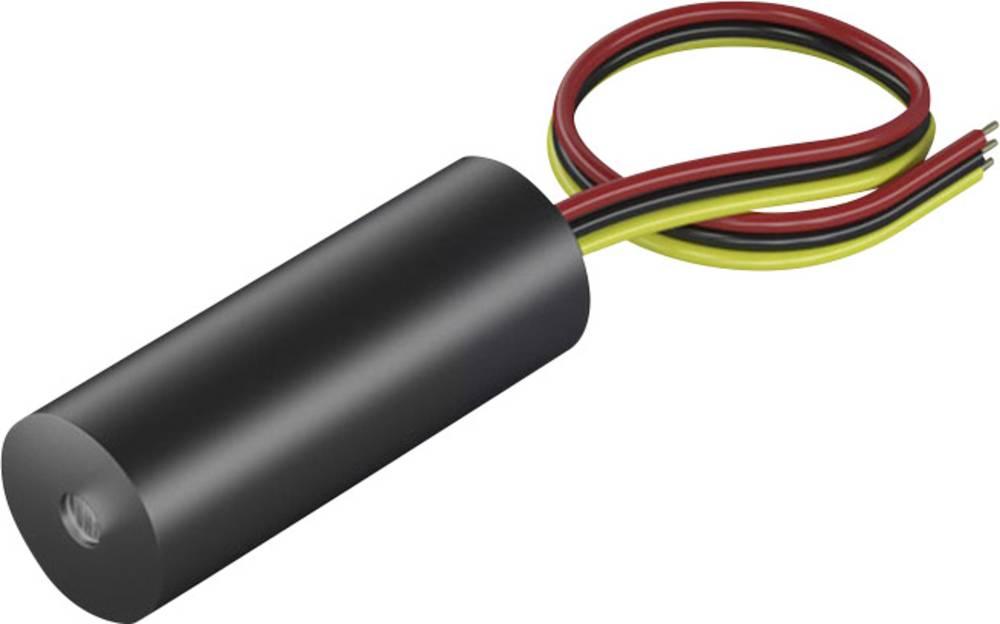 Laserski modul, točkovni, rdeče barve 1 mW Picotronic DI670-1-3(8x21)