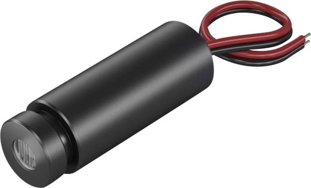 Laserski modul, točkasti, crvene boje 1 mW Picotronic DD635-1-3(12x34)