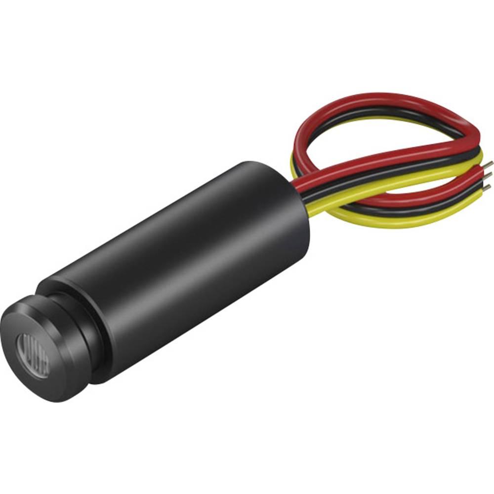 Laserski modul, točkasti, crvene boje 1 mW Picotronic MD650-1-5(12x34)
