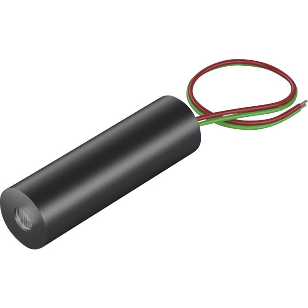 Laserski modul, linijski, rdeče barve 2.5 mW Picotronic LI635-2.5-3(8x26)45DEG