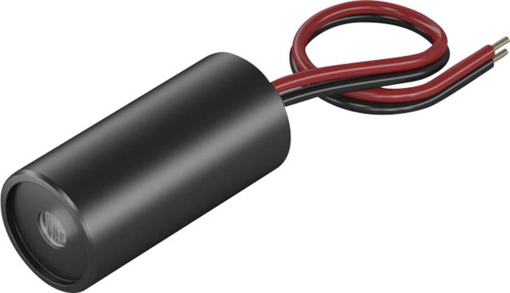 Laserski modul, točkasti, crvene boje 1 mW Picotronic DD635-1-3(12x25)