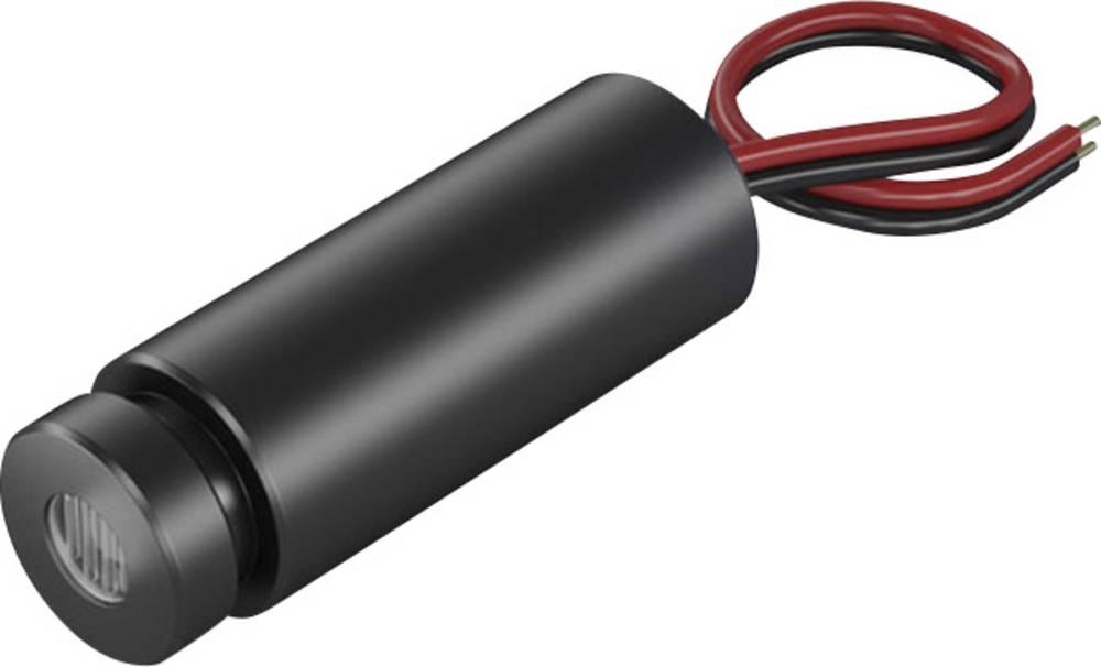 Laserski modul, točkovni, rdeče barve 0.4 mW Picotronic DD650-0.4-3(12x34)