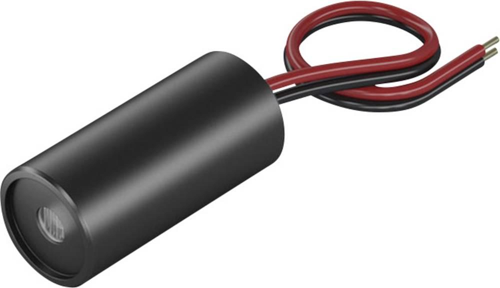 Laserski modul, točkovni, rdeče barve 1 mW Picotronic DD635-1-5(12x25)15mmat1000mm