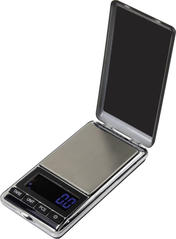 Fickvåg Basetech SJS-60007 500 g 0.1 g Silver