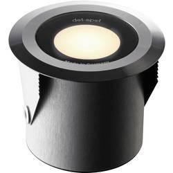 LED-udendørs indbygningsbelysning Sæt med 3 stk. 3 W Varm hvid dot-spot 25203 Aluminium