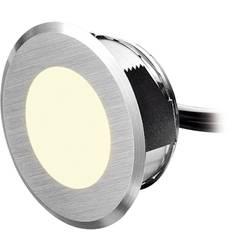 LED-udendørs indbygningsbelysning Sæt med 5 stk. 1.25 W Varm hvid dot-spot MD 25405 Sølv