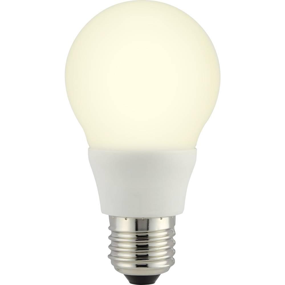 LED žarulja (jednobojna) sygonix 110 mm 230 V E27 6.5 W = 40 W toplo-bijela KEU: A+ oblik klasične žarulje sadržaj 1 komad