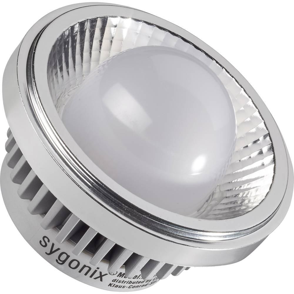 LED žarulja (jednobojna) sygonix 97 mm 12 V G53 15 W = 120 W toplo-bijela KEU: A+ poseban oblik sadržaj 1 komad
