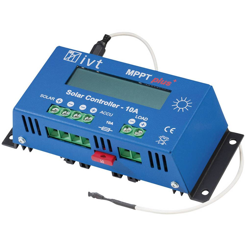 Ivt Mpptplus 10a Charge Controller Mppt 12 V 24 10 A From Solar
