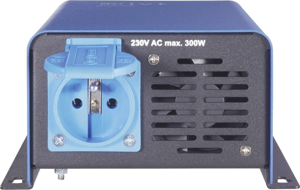 Inverter IVT DSW-2000/12 V FR 2000 W 12 V/DC Kan fjernbetjenes Skrueklemmer Beskyttelseskontakt-stikdåse F