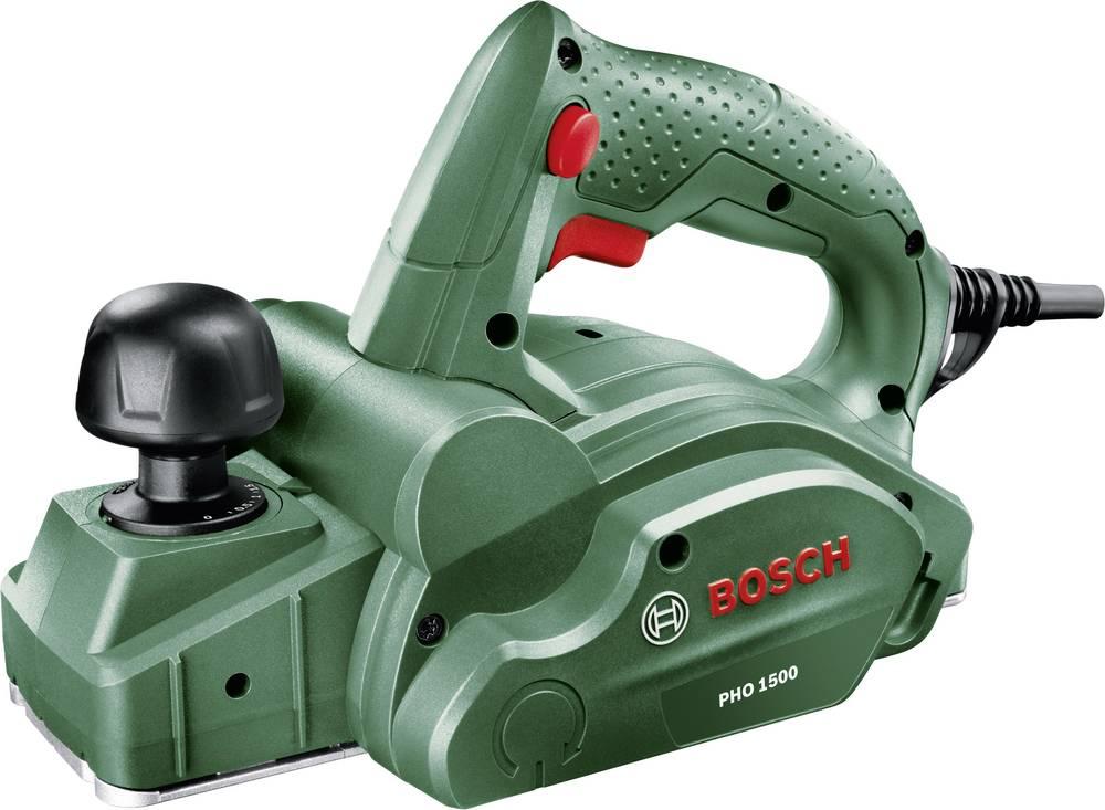 Oblič PHO 1500, Bosch, globina oblanja 0 - 1,5 mm, nazivna moč 550 W, globina utora 0 - 8 mm, 06032A4000