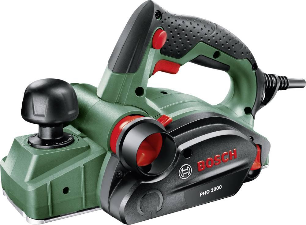 Oblič PHO 2000, Bosch, globina oblanja 0 - 2 mm, nazivna moč 680 W, globina utora 0 - 8 mm, 06032A4100