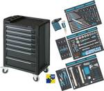 BMW Base assortment car with wizard 179-7-RAL 7016/157 with 157-PCS Tool Set