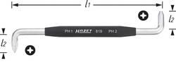 Hazet 819-PH1+PH2 Llave Allen