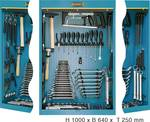Tool cabinet with assortment
