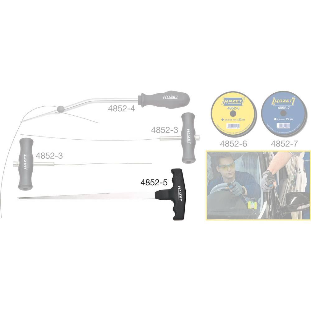 Komplet alata za vađenje stakla / žičani pokretač 4852-5 Hazet