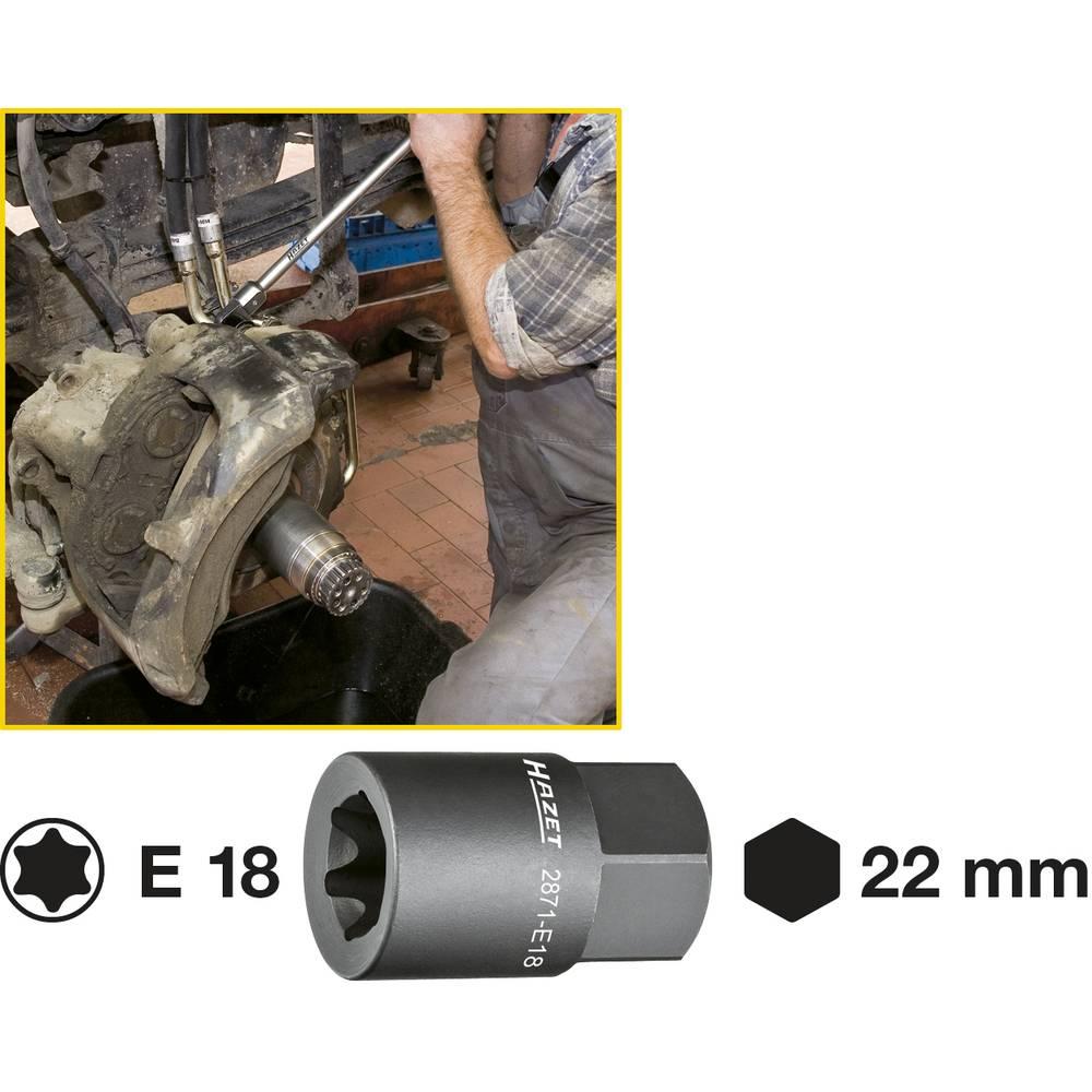 Sedlo za kočnicu TORX® Einsatz 2871-E18 Hazet
