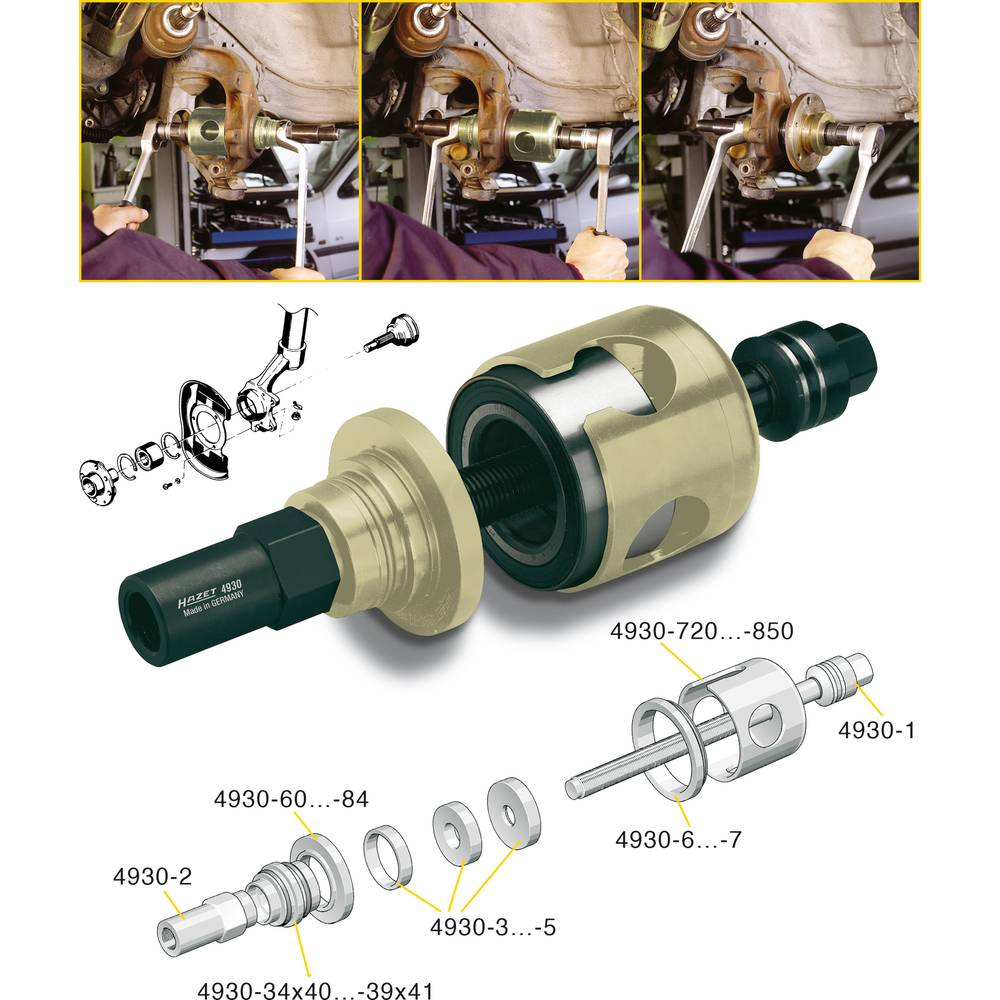 Čahura za centriranje 4930-35X42 Hazet