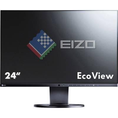 Image of EIZO EV2450-BK LED 60.5 cm (23.8 inch) 1920 x 1080 p Full HD 5 ms DisplayPort, HDMI™, DVI, VGA IPS LED