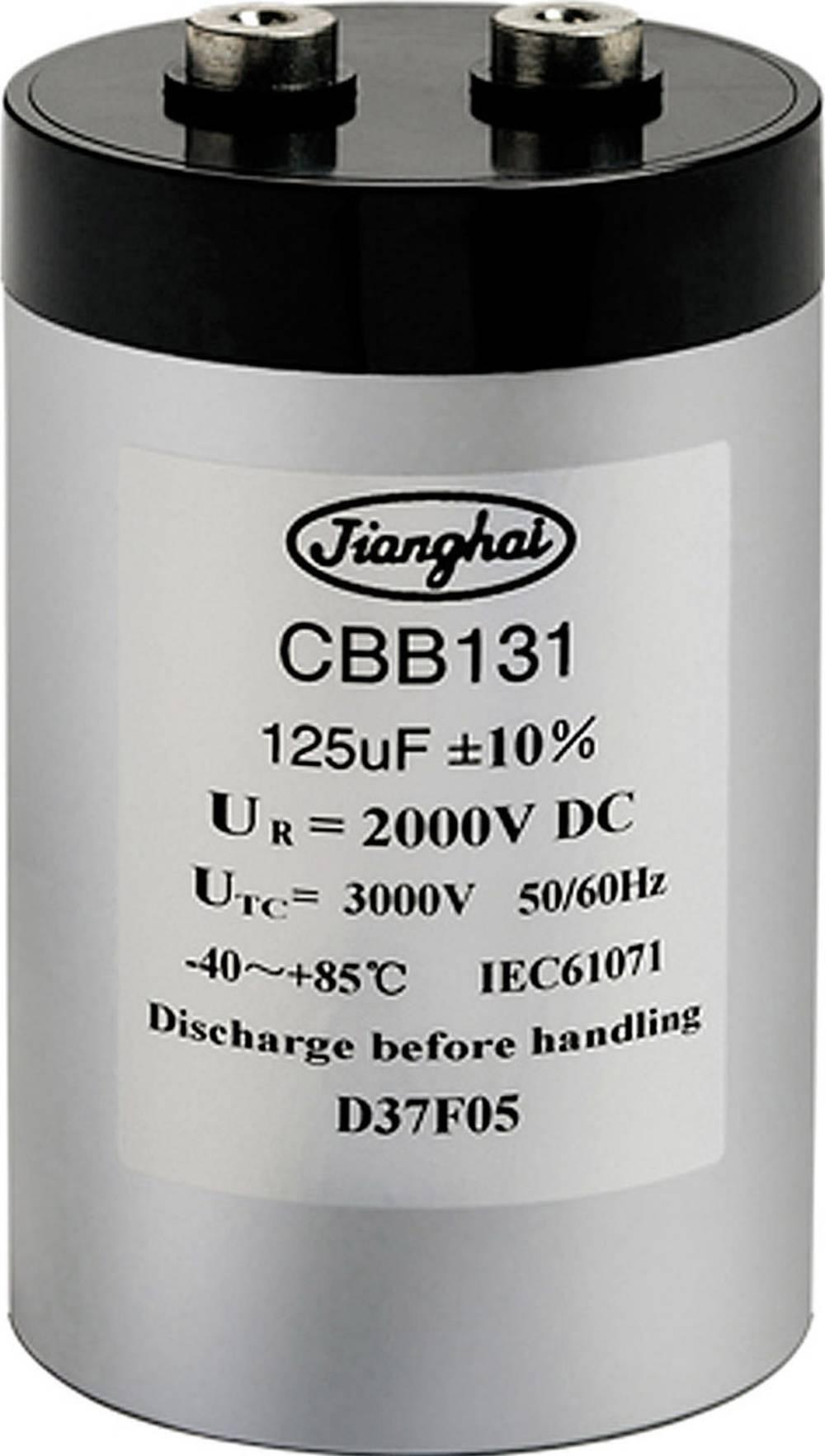 MKP-folijski kondenzator SnapIn 420 µF 1100 V 10 % ( x L) 86 mm x 141 mm Jianghai FCCA3DL427KL136031CE3-JEE0058 1 kos