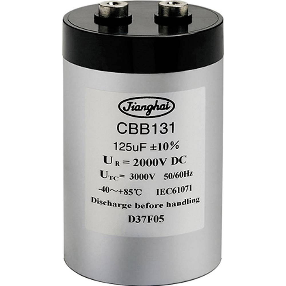 MKP-folijski kondenzator SnapIn 390 µF 1100 V 10 % ( x L) 86 mm x 141 mm Jianghai FCCA3DL397KL136031CE3-JEE0060 1 kos