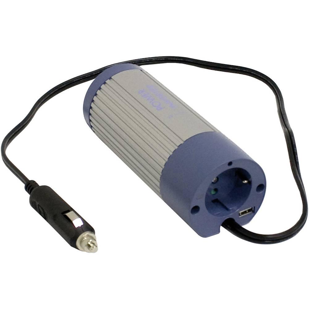 Izmjenjivač A301-100-F3 Mean Well 100 W 12 V/DC 10 - 15 V/DC utikač upaljača za cigarete, šuko utičnica