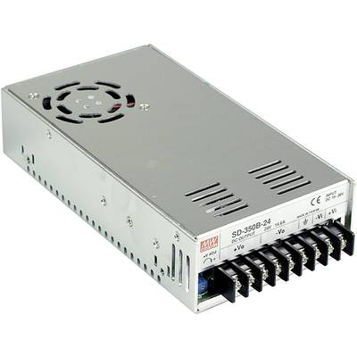 DC/DC-converter Mean Well SD-350C-24 14.6 A
