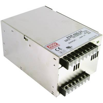 AC/DC PSU module (+ enclosure) Mean Well PSP-600-12 12 Vdc 50 A