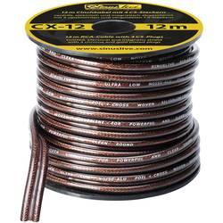 Sinuslive CX-12 činč kabel 12 m na majhni roli, vklj. 4 CS-kovinski vtikači