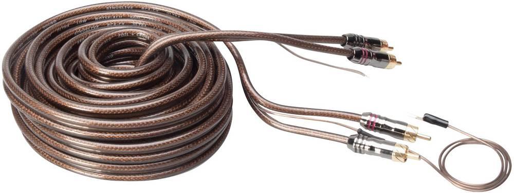 Phono-kabel Sinuslive CX-65 Sort, Halvtransparent 6.5 m