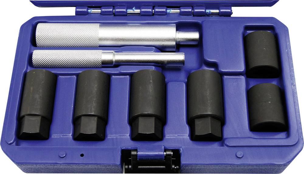 Komplet orodja za odklepanje platišč 8-delni, v kovčku Kunzer 7FSL08