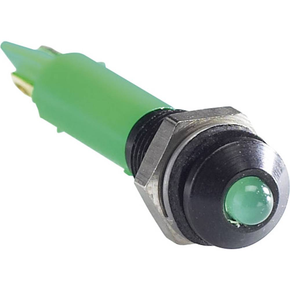 LED signalna lučka, modra 12 V/DC APEM Q6P1CXXB12E