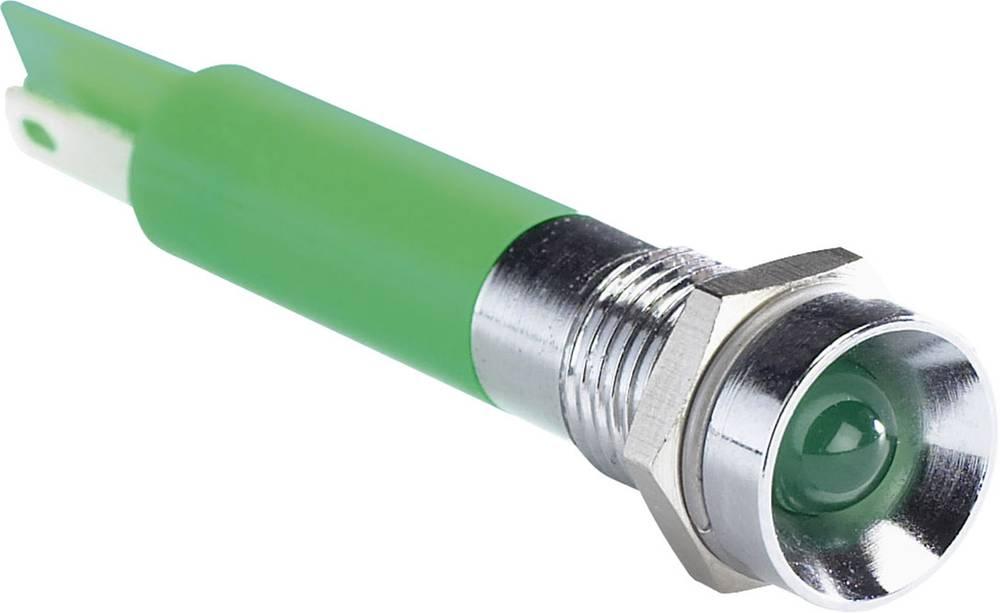 LED signalno svjetlo, zeleno 220 V/AC APEM Q8R1CXXG220E