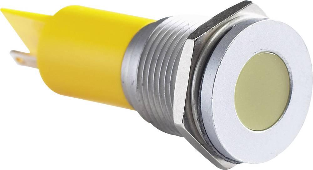 LED signalno svjetlo, bijelo 12 V/DC APEM Q16F1CXXW12E