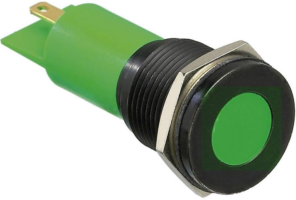 LED signalno svjetlo, plavo 12 V/DC APEM Q16F1BXXB12E