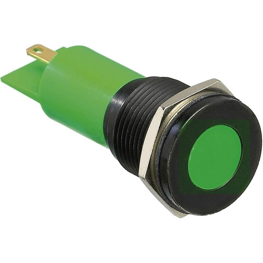 LED signalna lučka, rdeča 12 V/DC APEM Q16F1BXXR12E