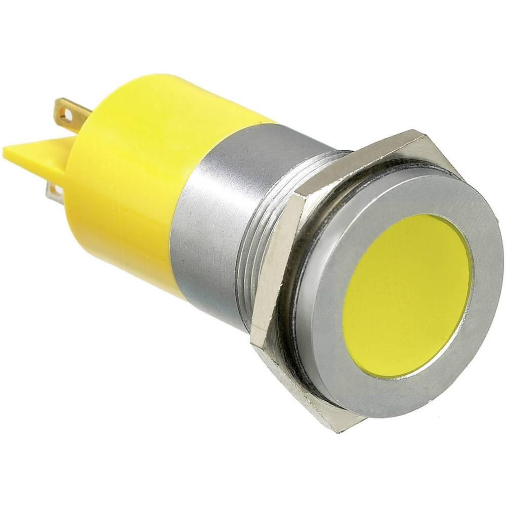 LED signalna lučka, rumena 220 V/AC APEM Q22F1CXXY220E
