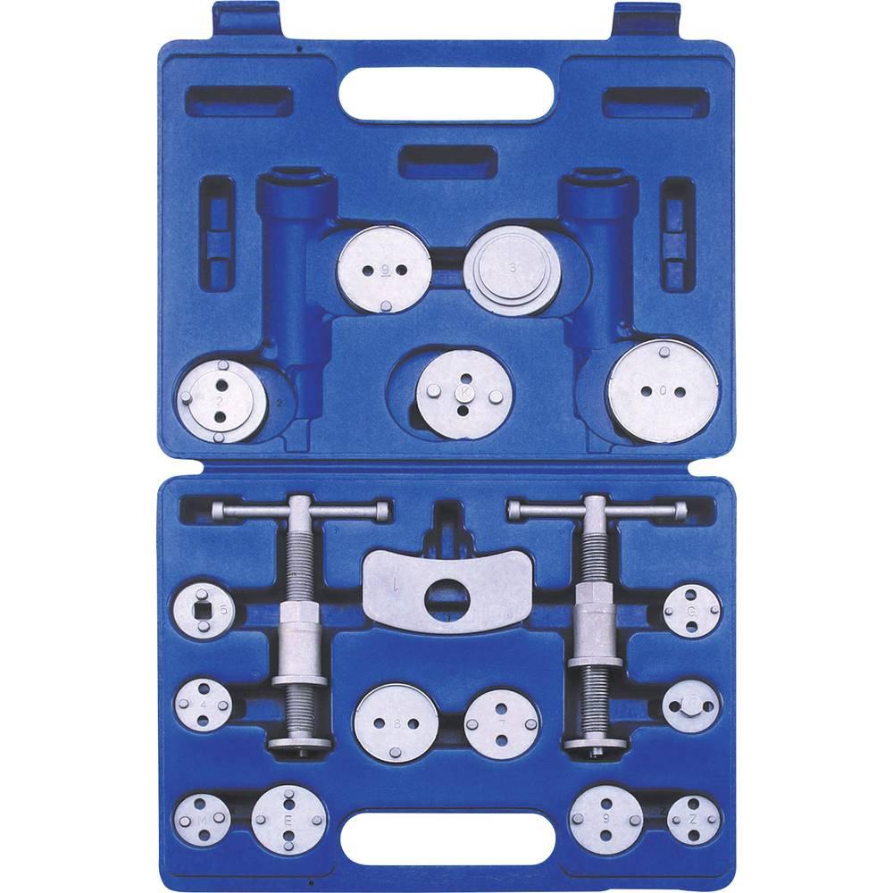 Komplet alata za vraćanje kočničkog klipa 7BW18 Kunzer 18-dijelni