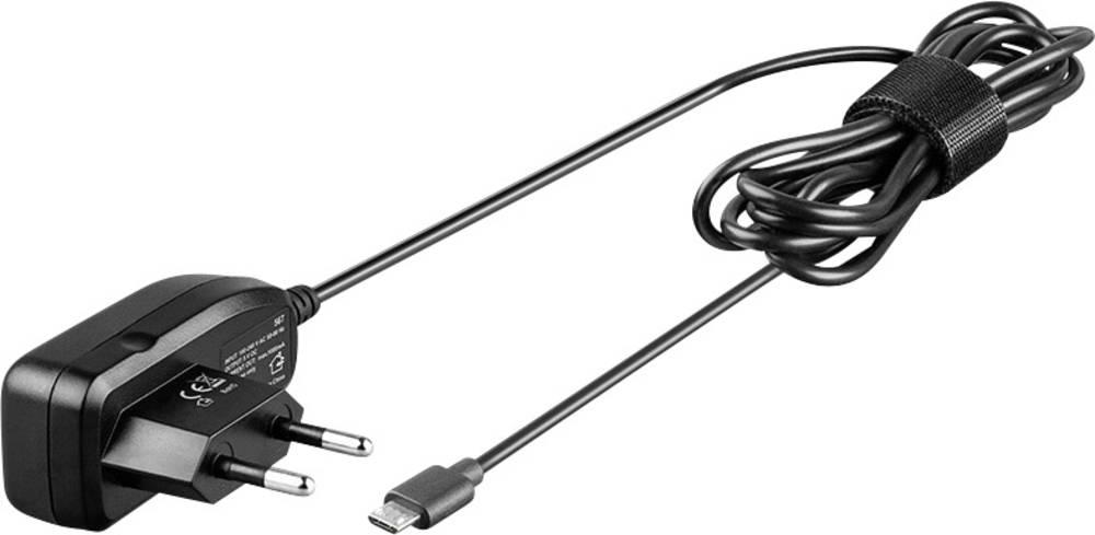 Punjač s USB priključkom Goobay 46600 izlazna struja (maks.) 1000 mA 1 x Micro-USB