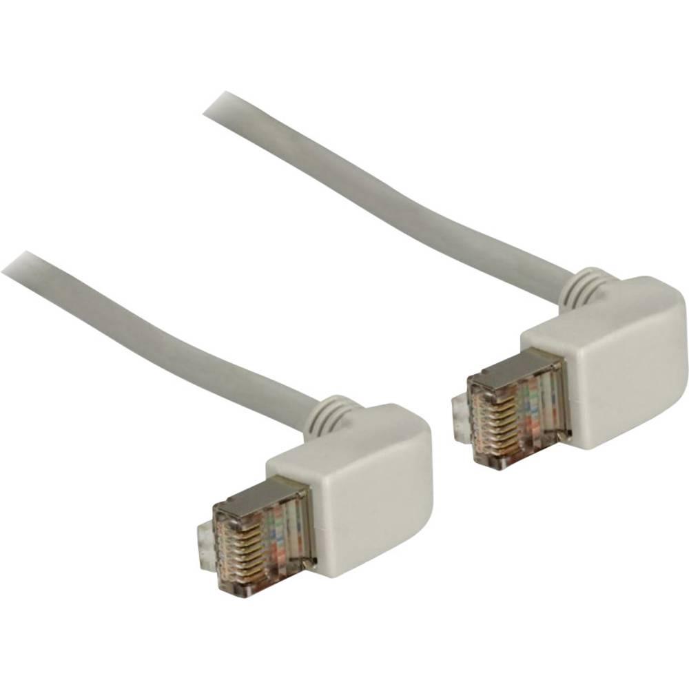 RJ45 omrežni priključni kabel CAT 6 S/FTP [1x RJ45-vtič - 1x RJ45-vtič] 2 m siv Delock