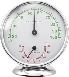Termo-/Hygrometer Renkforce 6510 Alu Aluminium